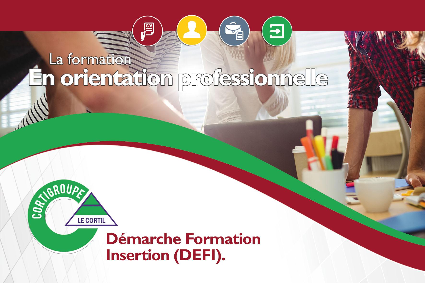 Formation en orientation professionnelle